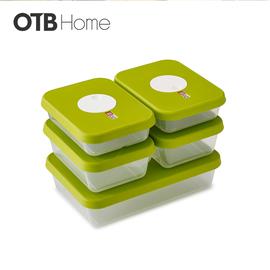 拨盘系列方形保鲜盒0.9L