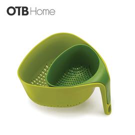 双层多彩轻盈滤水器绿色