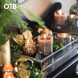 GL 绿叶经典瓶装蜡烛
