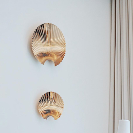 CONCHA Hook/wall Decoration  Gold    Extra small