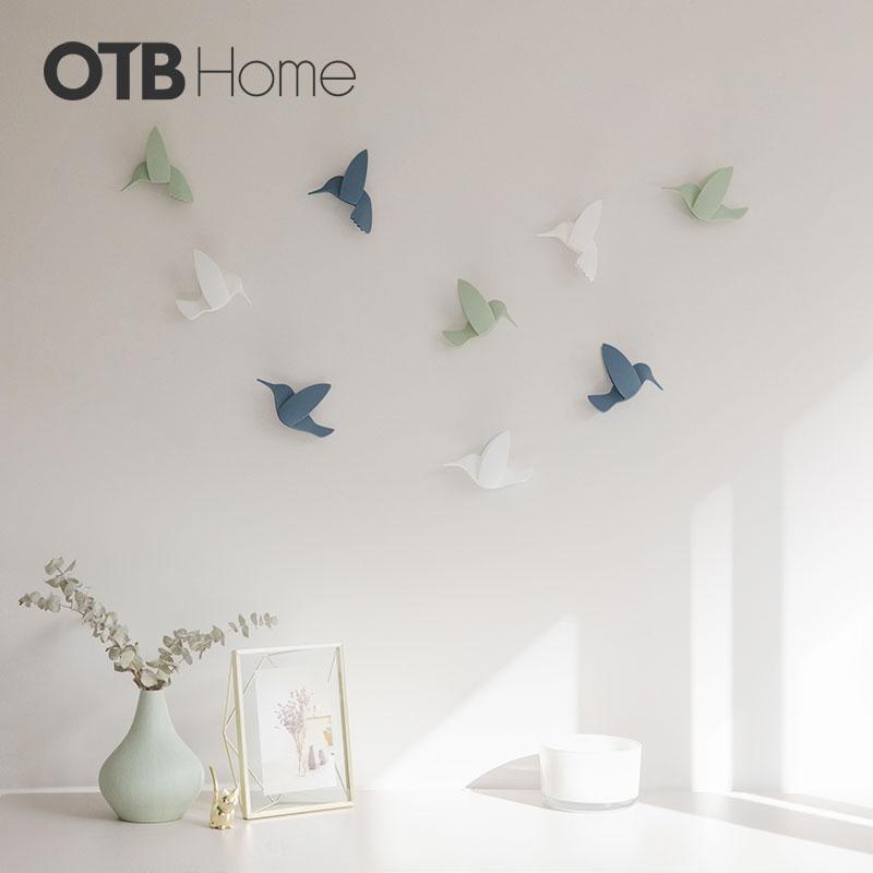 HUMMINGBIRD 蜂鸟墙饰 混色