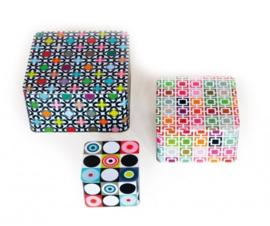 Set of Tin Boxes